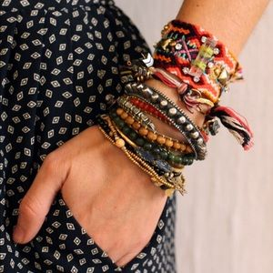 Jewelry - BRAND NEW Bundle of woven friendship bracelets